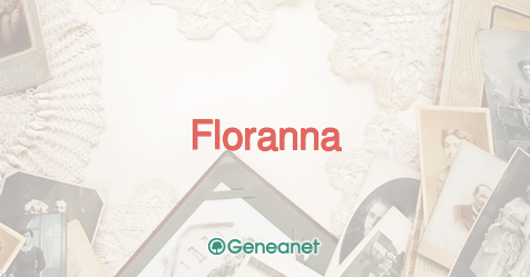 best loved 5f816 a10d1 First name Floranna: origin, meaning and popularity - Geneanet