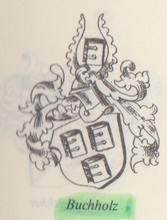 Wappen des Bürgermeisters Hans Buchholtz um 1500, siehe Siebmacher