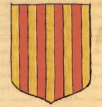 reconstitution d'après armoriaux du XVIIème siècle ©ChristianDaumas