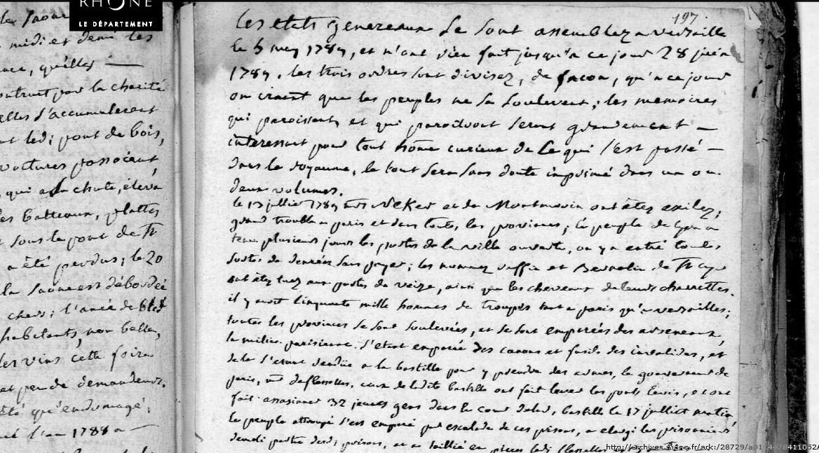 Événements de mai 1789