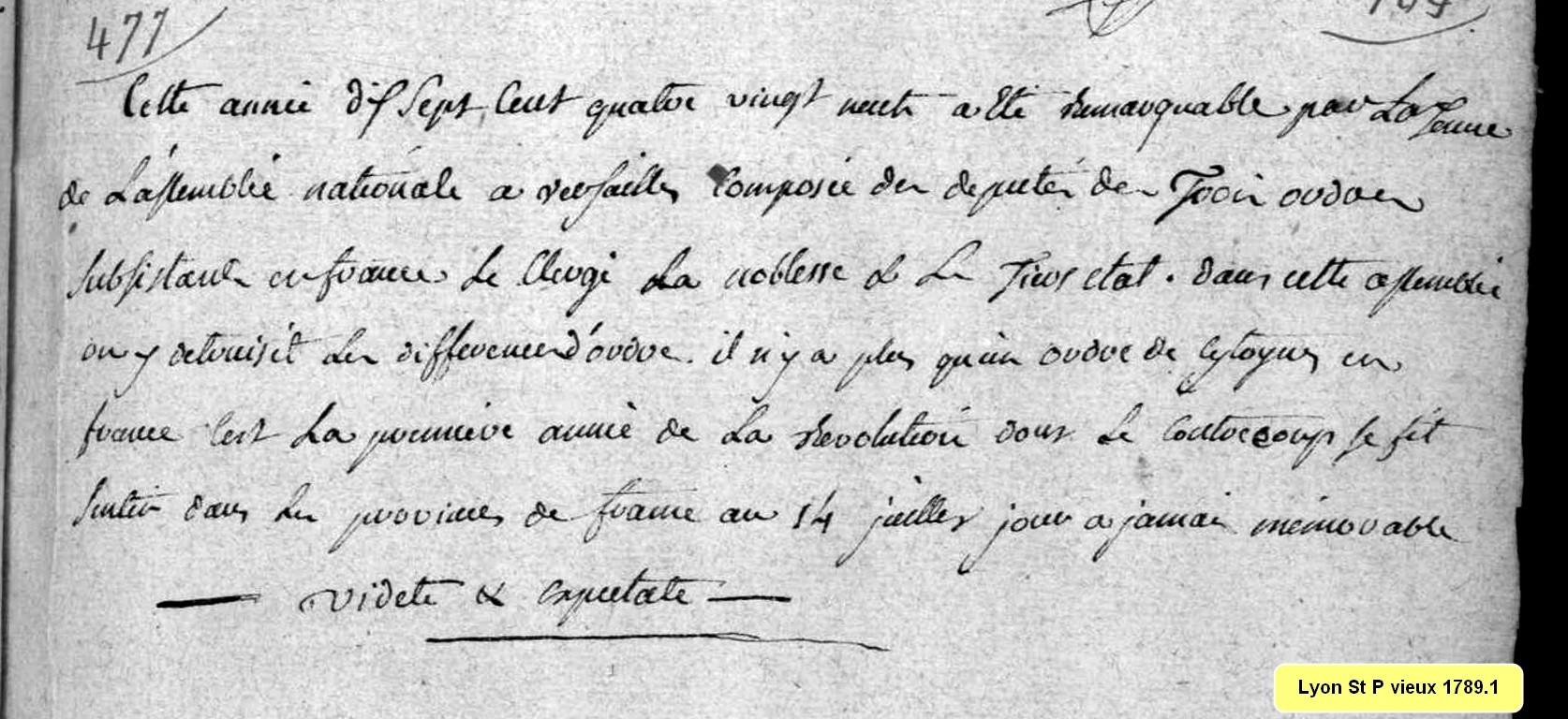 La Révolution à Lyon
