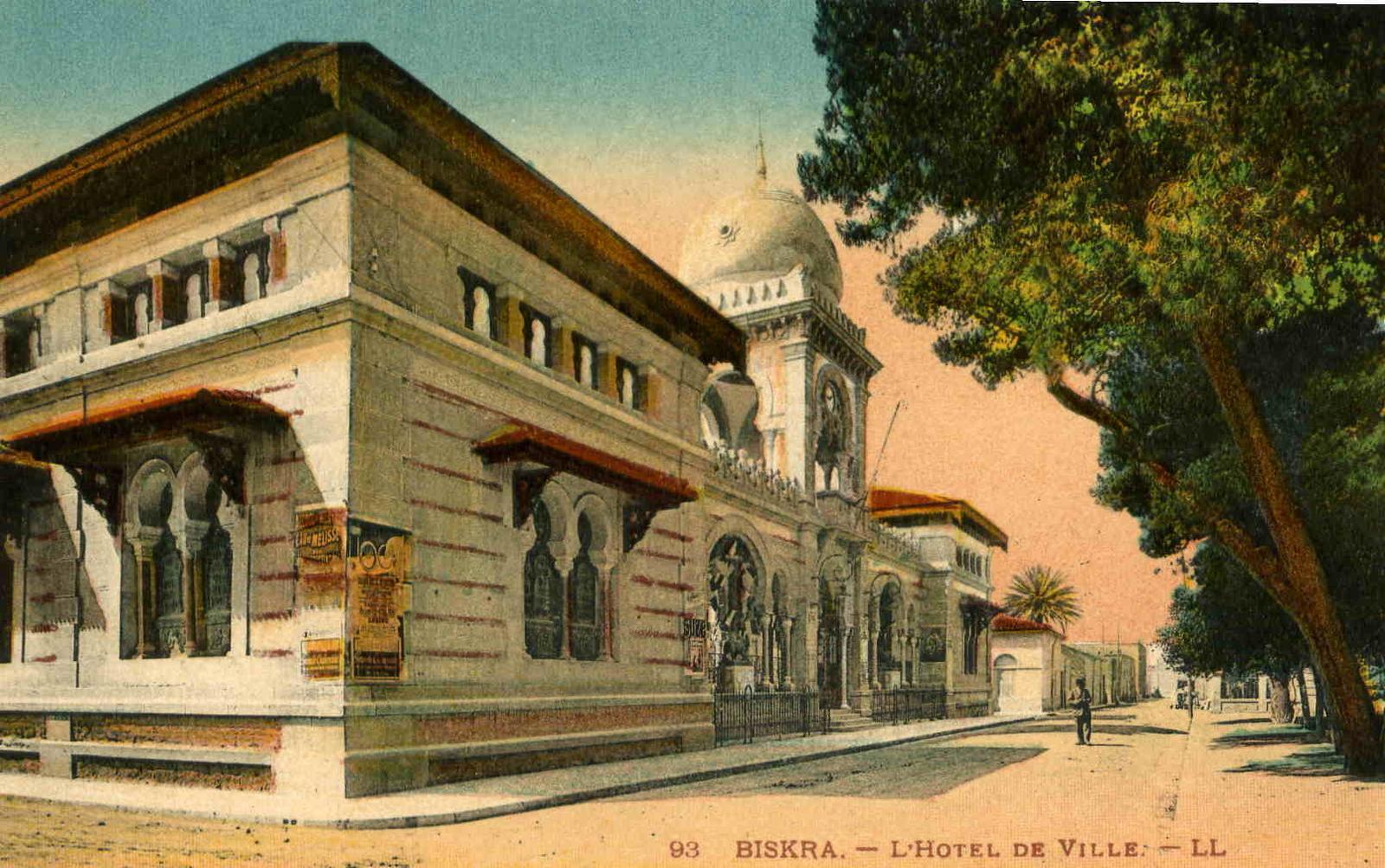 Biskra - L'Hotel de ville