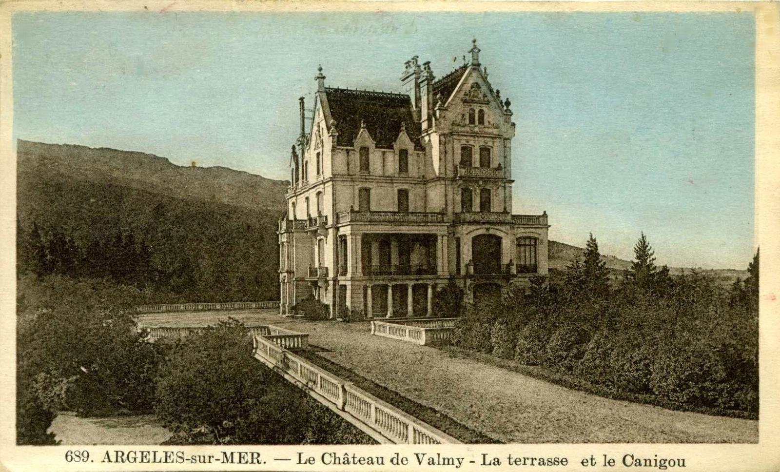 Argelès-sur-Mer - Un net recul de la plage depuis... - Carte postale ancienne et vue d'Hier et ...