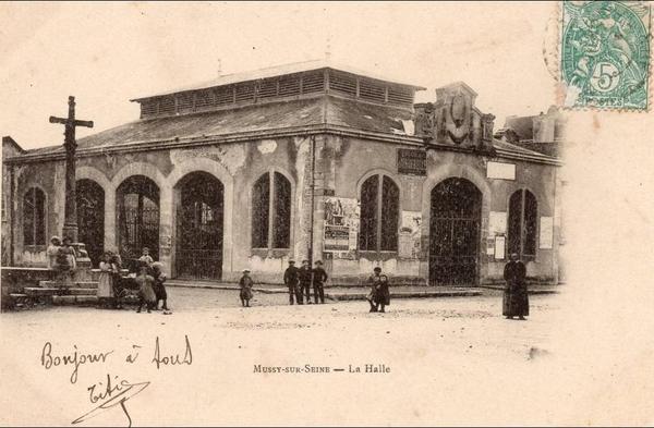 Mussy-sur-Seine - MUSSY-SUR-SEINE - La Halle