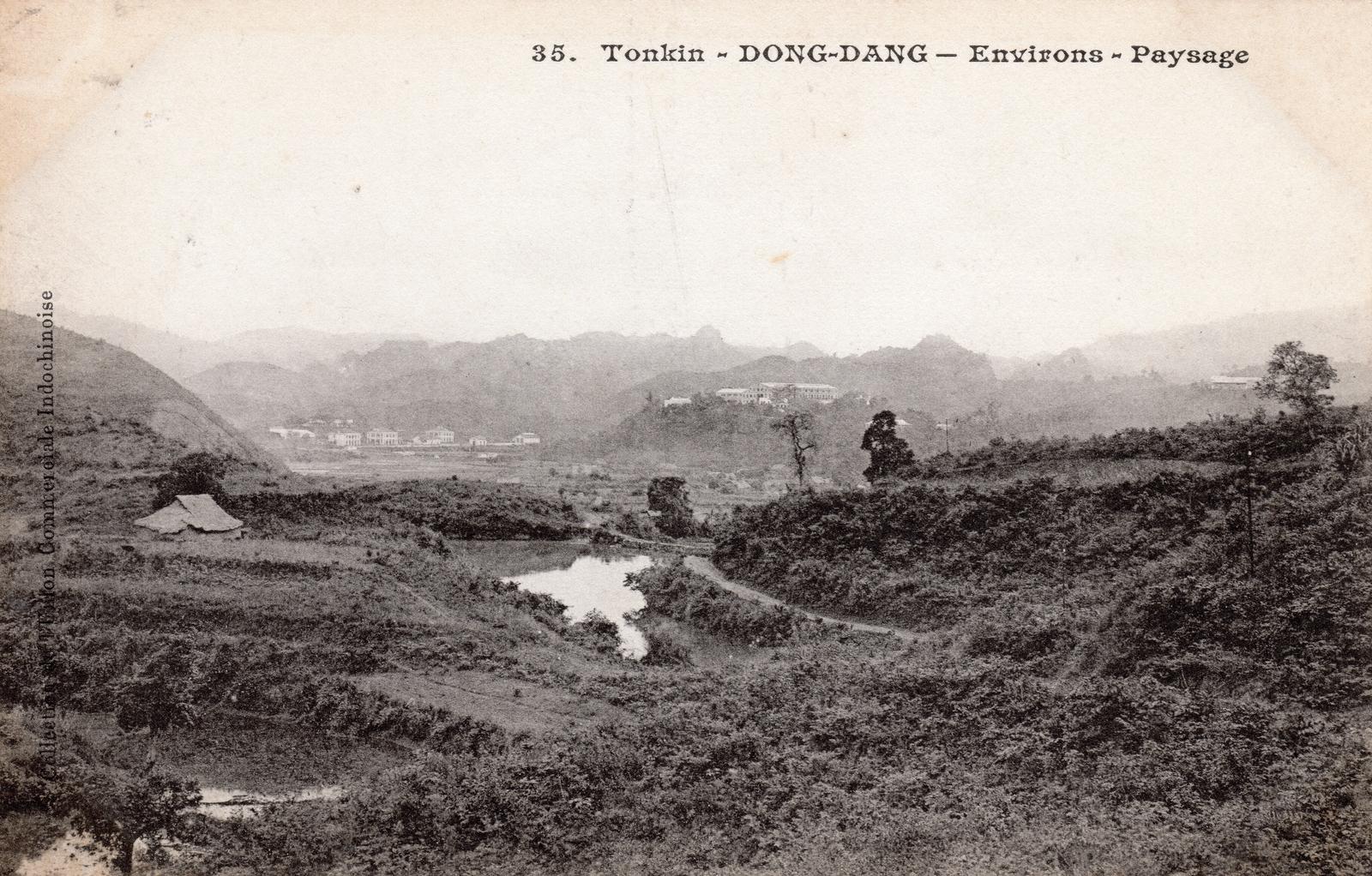 Dong Dang -  TONKIN-Dong Dang-Environs-Paysage