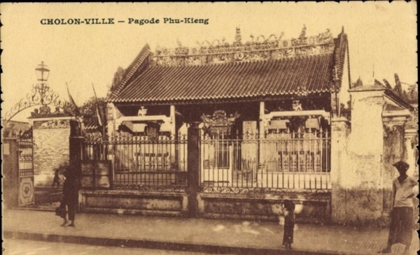 Cholon - Cp Cholon Ville Vietnam, Pagode Phu Kieng