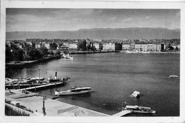 Genève - La rade et le Jura
