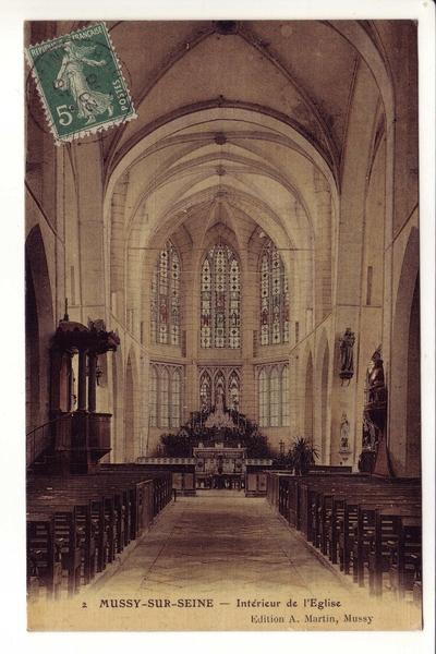 Mussy-sur-Seine - Cartes éditées par Alfred Martin