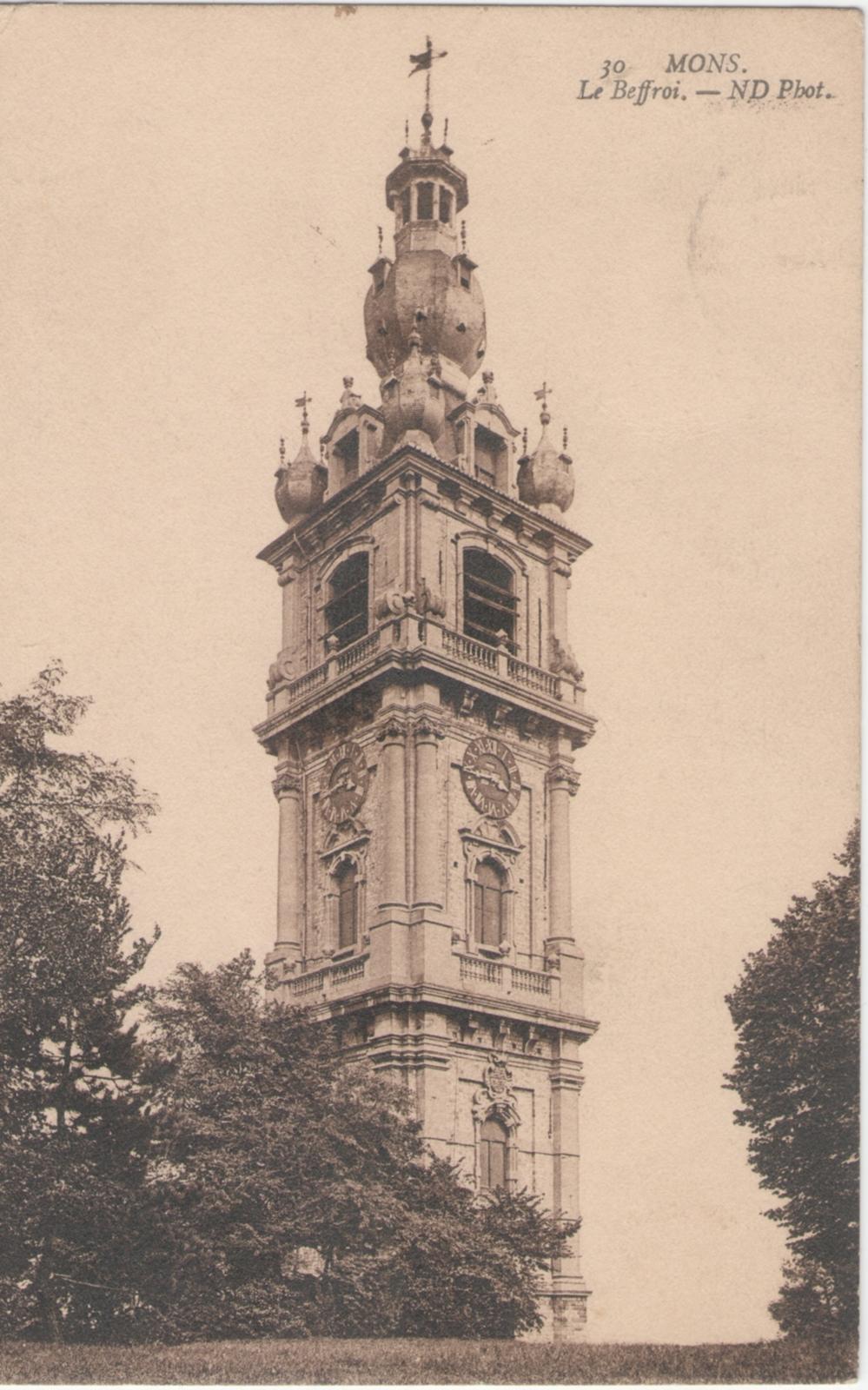Carte Belgique Mons.Mons Carte Postale Ancienne Et Vue D Hier Et Aujourd Hui Geneanet