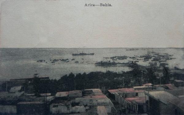 Arica - La bahía de Arica.