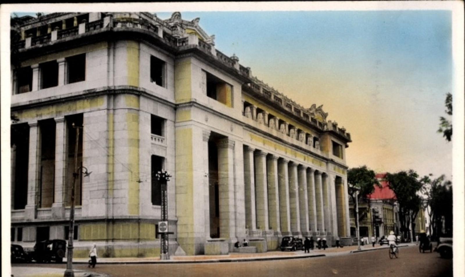 Hô Chi Minh-Ville -  Cp Saigon Cochinchine Vietnam, La B. I. C. vue de côté