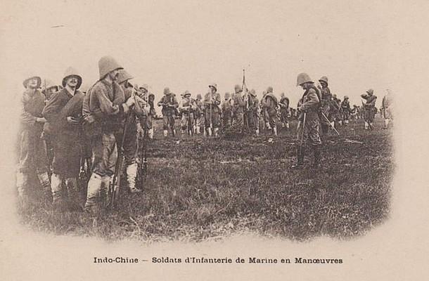 -  soldats d'infanterie de marine