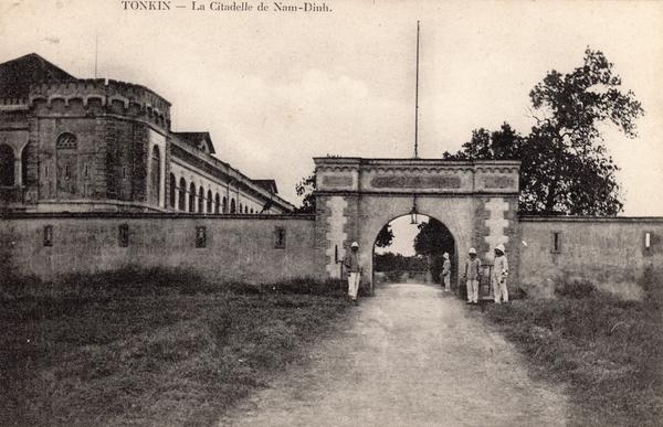 Nam-Dinh - TONKIN-La Citadelle de Nam Dinh