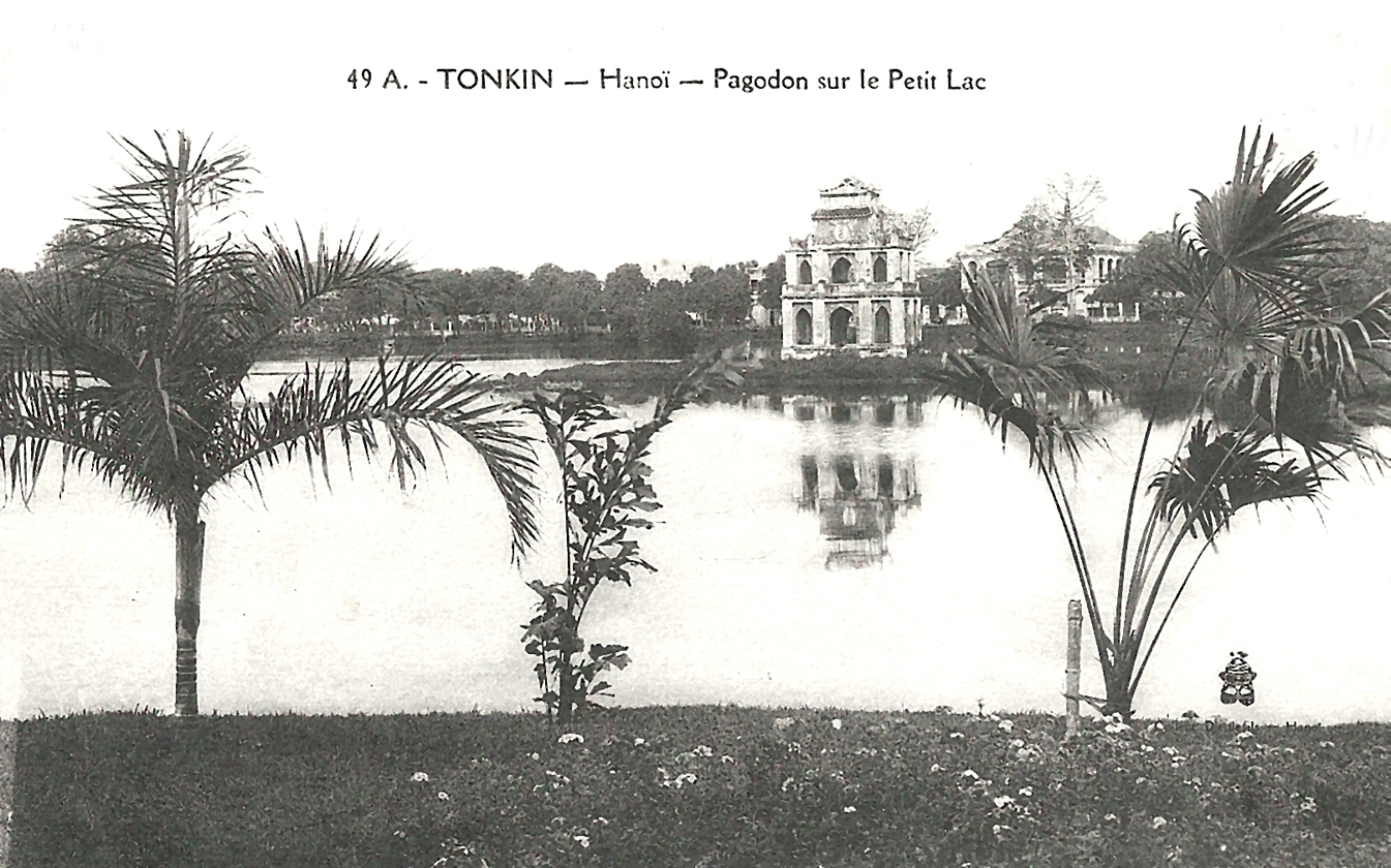 Hanoï -  Tonkin-Hanoï-Pagodon sur le Petit Lac