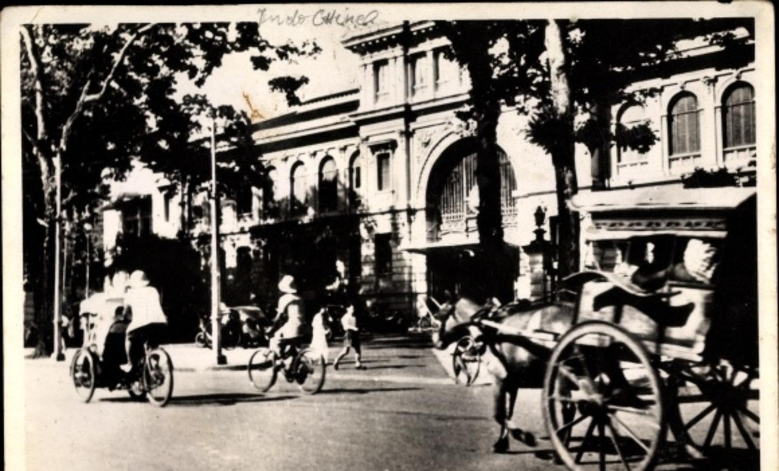 Hô Chi Minh-Ville -  Cp Saigon Cochinchine Vietnam, L'Hôtel des Postes