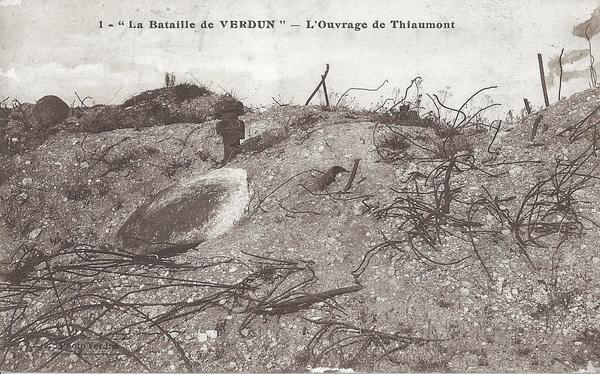 Fleury-devant-Douaumont - Ouvrage de Thiaumont.Bataille de Verdun.