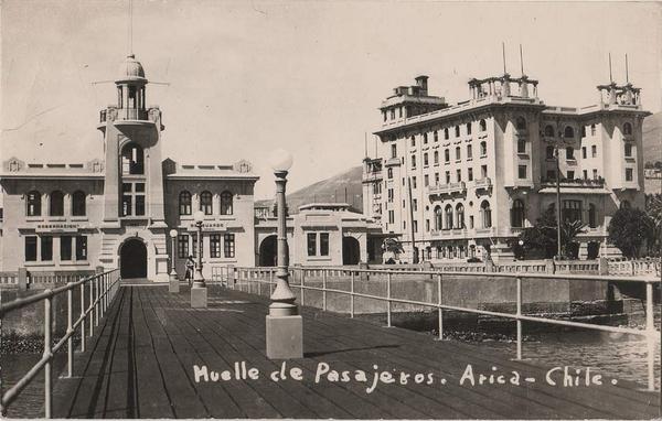 Arica - Muelle de pasajeros.