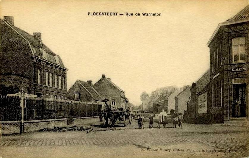 """Ploegsteert -  Ploegsteert """" Rue de Warneton """""""