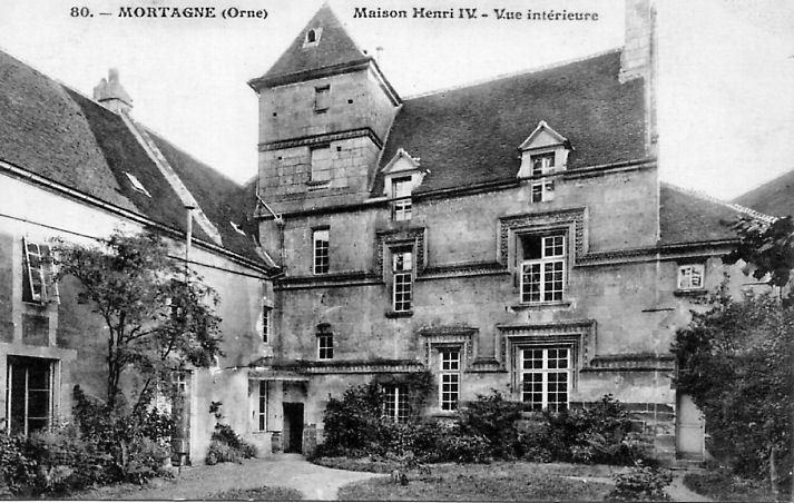 Mortagne-au-Perche - Maison Henri IV