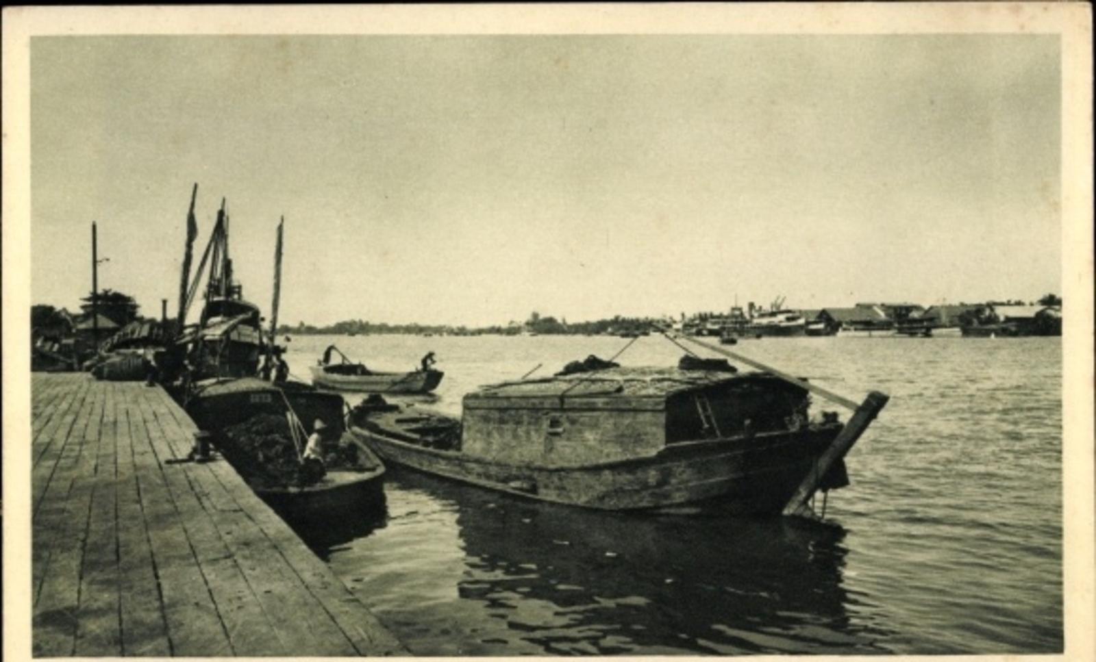 Hô Chi Minh-Ville -  Cp Saigon Cochinchine Vietnam, La riviére