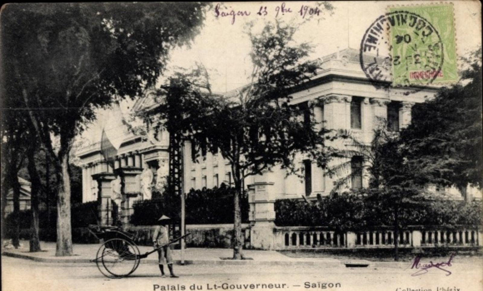Hô Chi Minh-Ville -  Cp Saigon Cochinchine Vietnam, Palais du Lt. Gouverneur