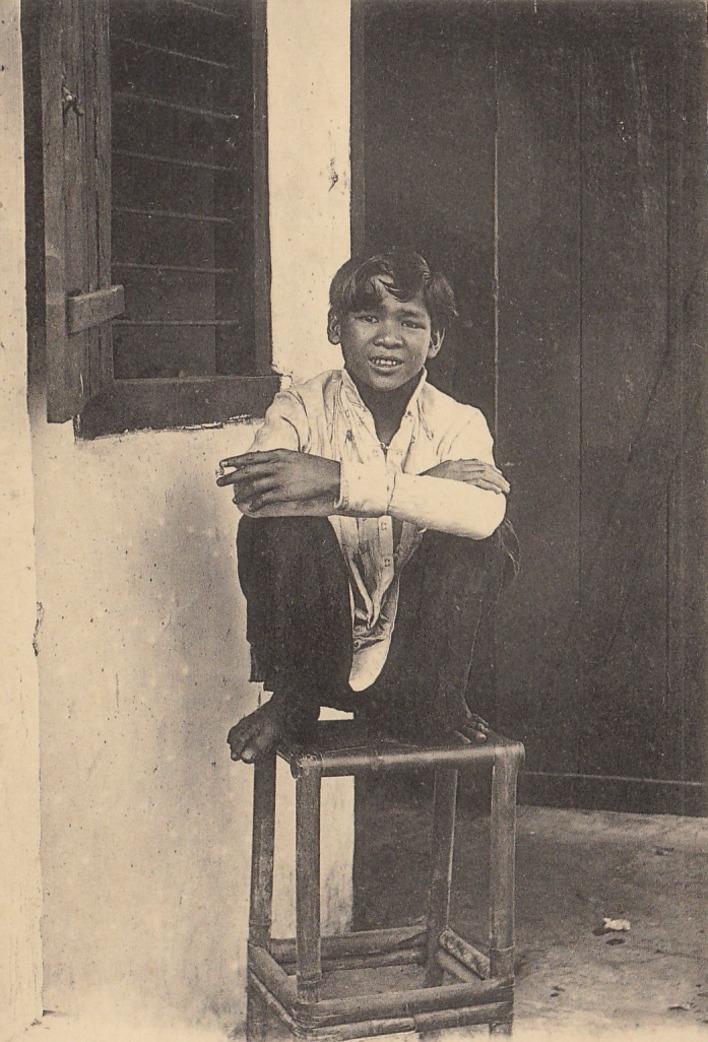 Hô-Chi-Minh-Ville -  COCHINCHINE VIET NAM saïgon un boy