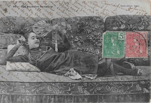 Saïgon - une bayadère annamite