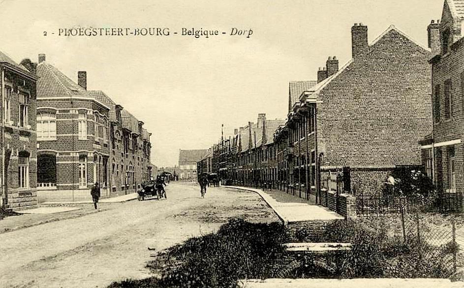 """Ploegsteert -  Ploegsteert """" Rue d'Armentières """""""