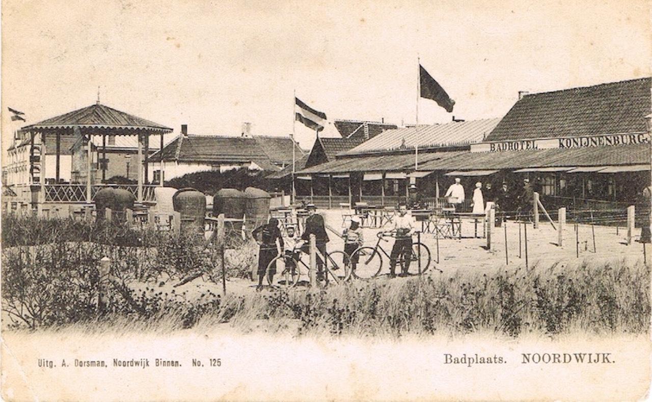 Noordwijk Aan Zee - Badhotel Konijnenburg.