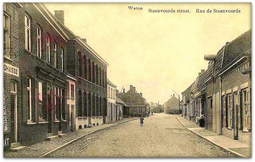 """Watou -  Watou """" Rue de Steenvoorde """""""