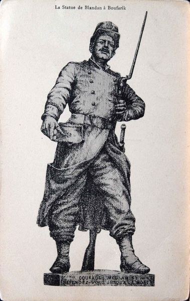 Boufarik - Statut du Sergent BLANDAN