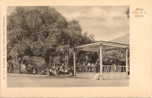 Arica - Plaza de la Matriz.