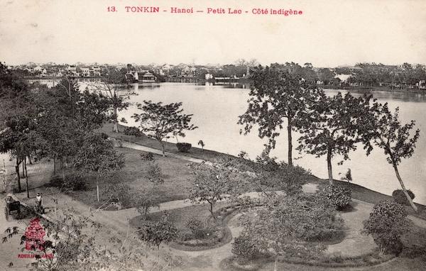 Hanoï - TONKIN-Hanoï-Petit Lac-Coté Indigène