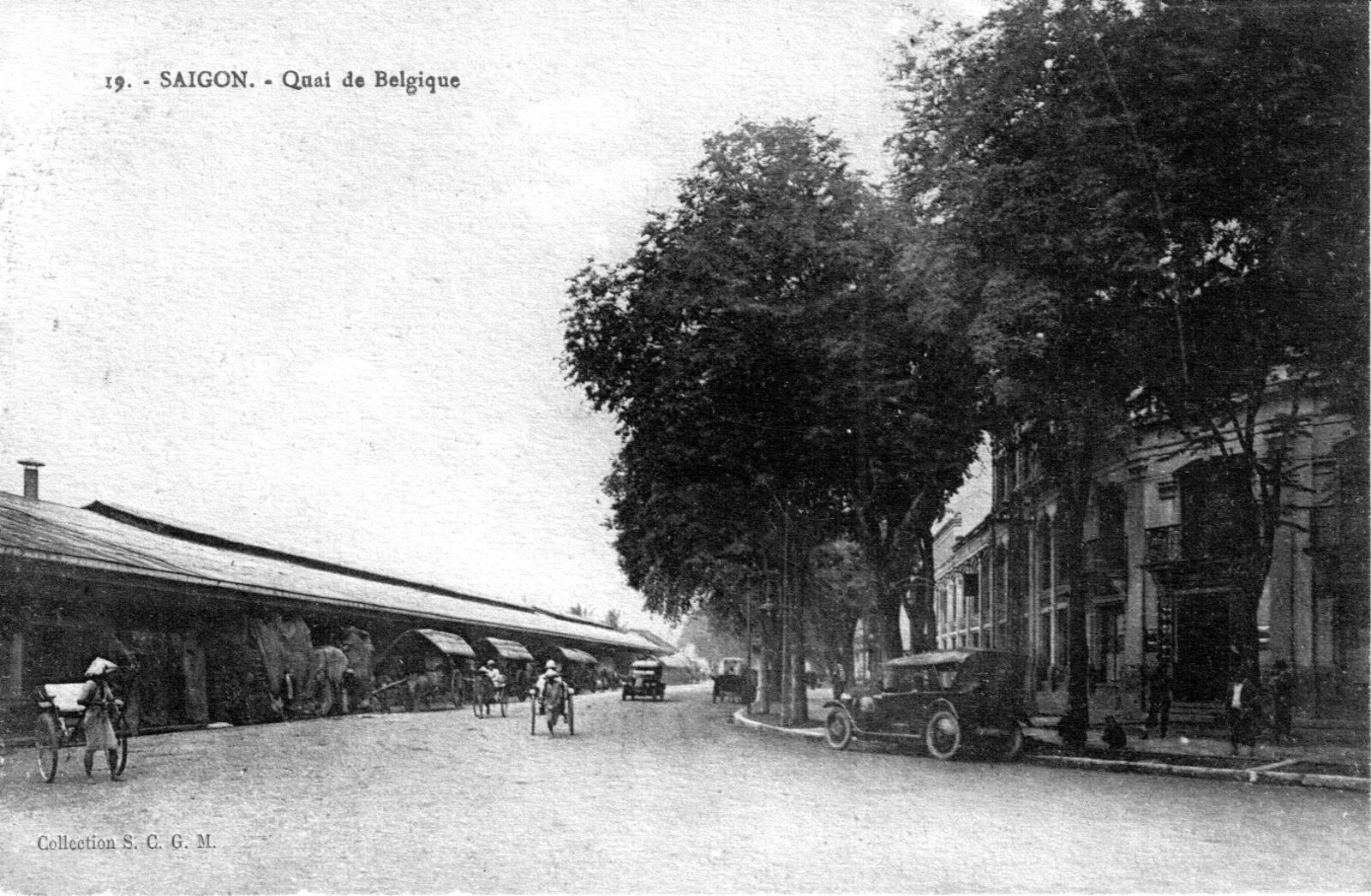 Saïgon -  Vue de Saïgon vers 1925-1930