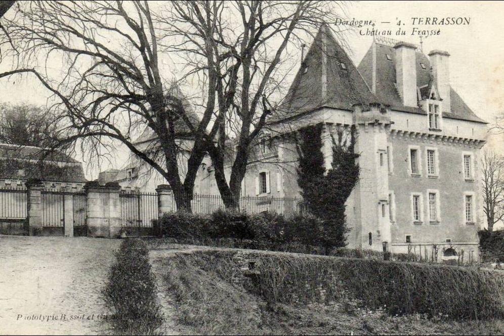 Terrasson La Villedieu Terrasson Château Du Fraysse