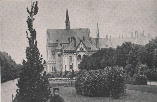 Riga - Lettland - Riga - Börsen-Commerzschule - ca. 1955