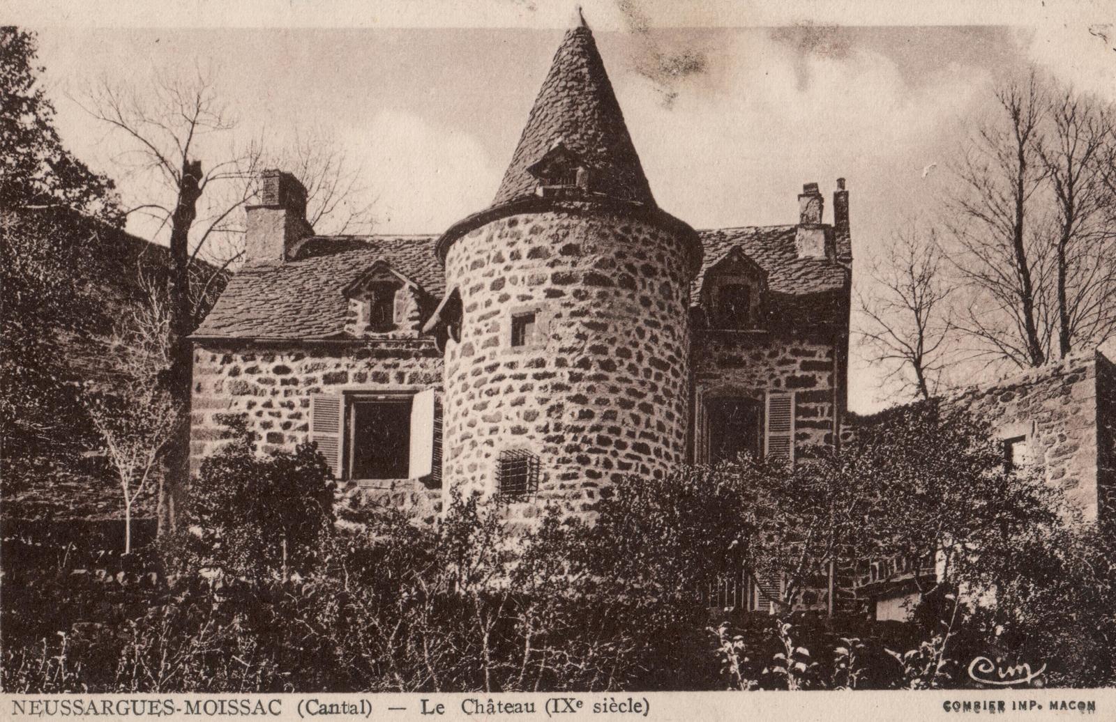 Neussargues-Moissac - Le Château