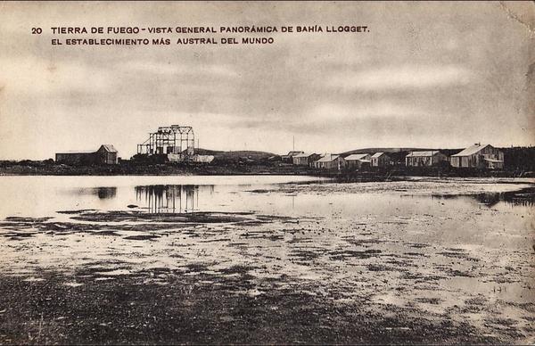 - TIERRA DE FUEGO.  VISTA GENERALE PANORAMA DE BAHAI LLOGGET.