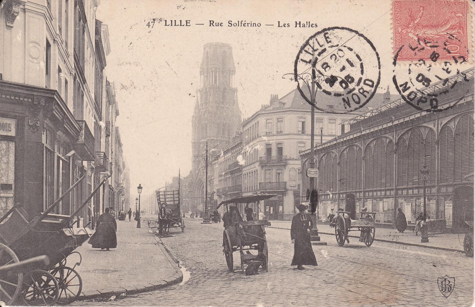Lille -  Rue Solférino