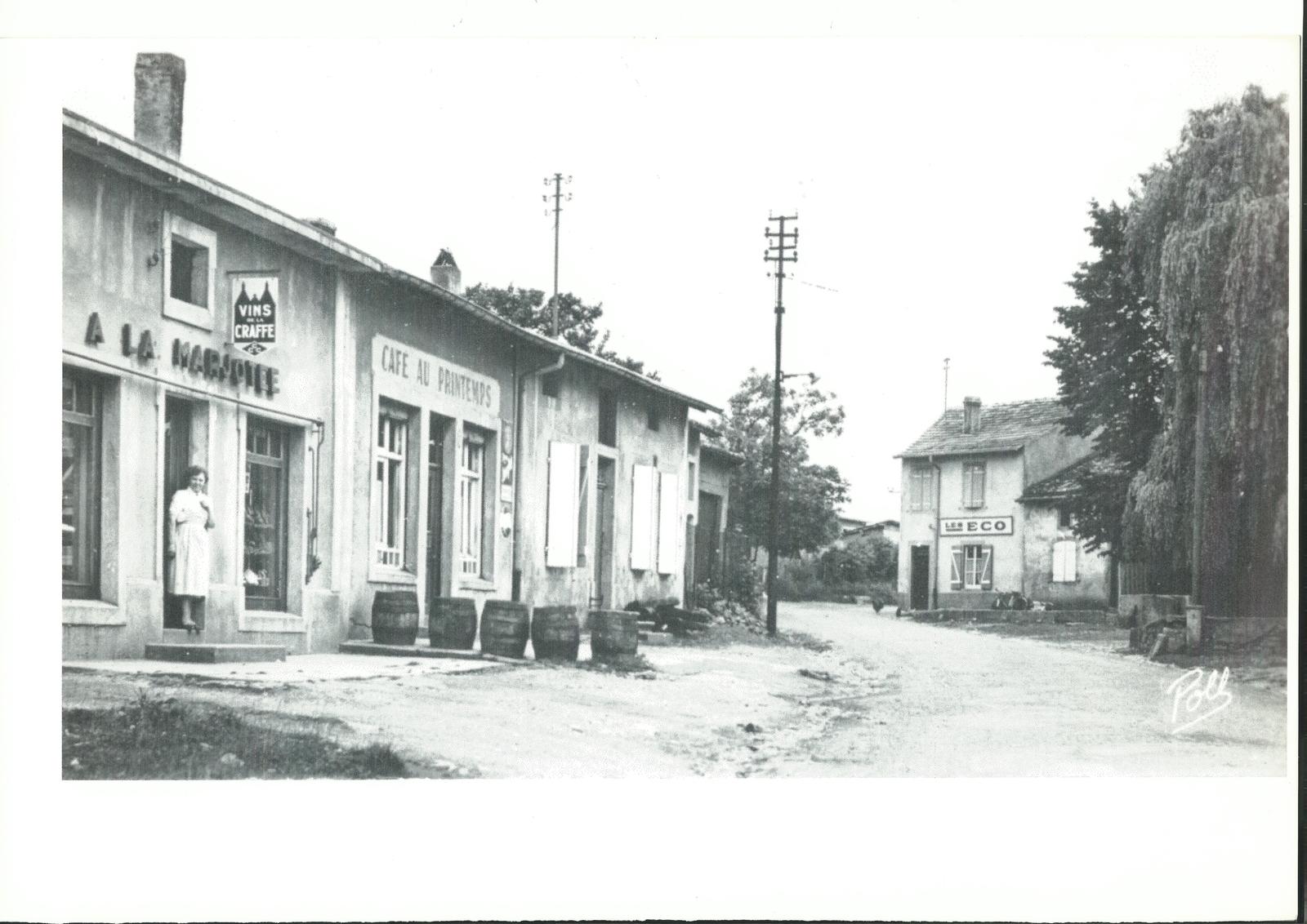 Marange-Silvange -  Rue Principale du village de Silvange