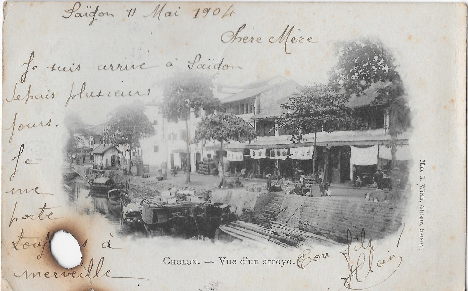 Saïgon -  Un arroyo