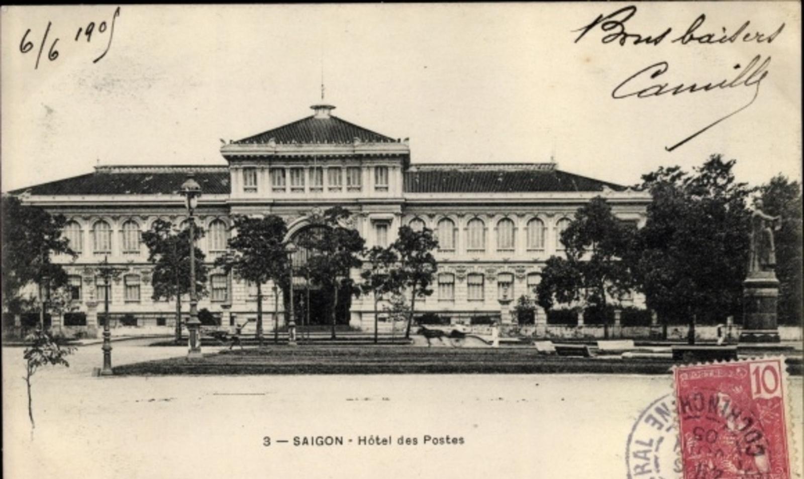 Hô Chi Minh-Ville -  Cp Saigon Cochinchine Vietnam, Hôtel des Postes