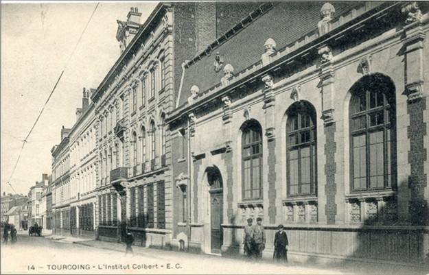 Tourcoing - 14 - Tourcoing - Institut Colbert - E.C.