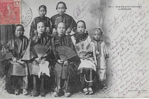 Cholon - famille chinoise
