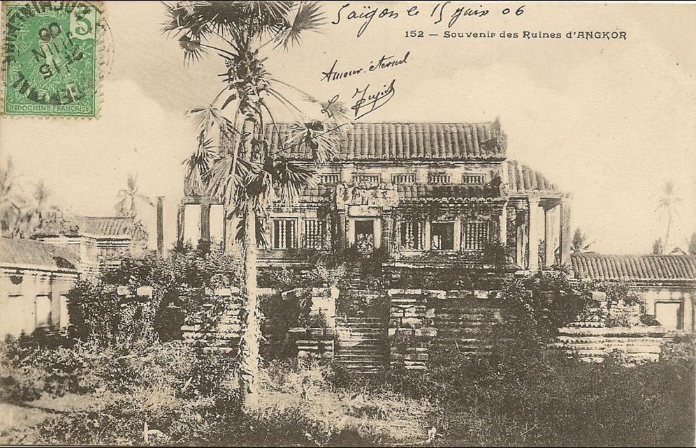 -  Viet-nam  -Souvenir des ruines d´Angkor t - numero 152 editeur plante -