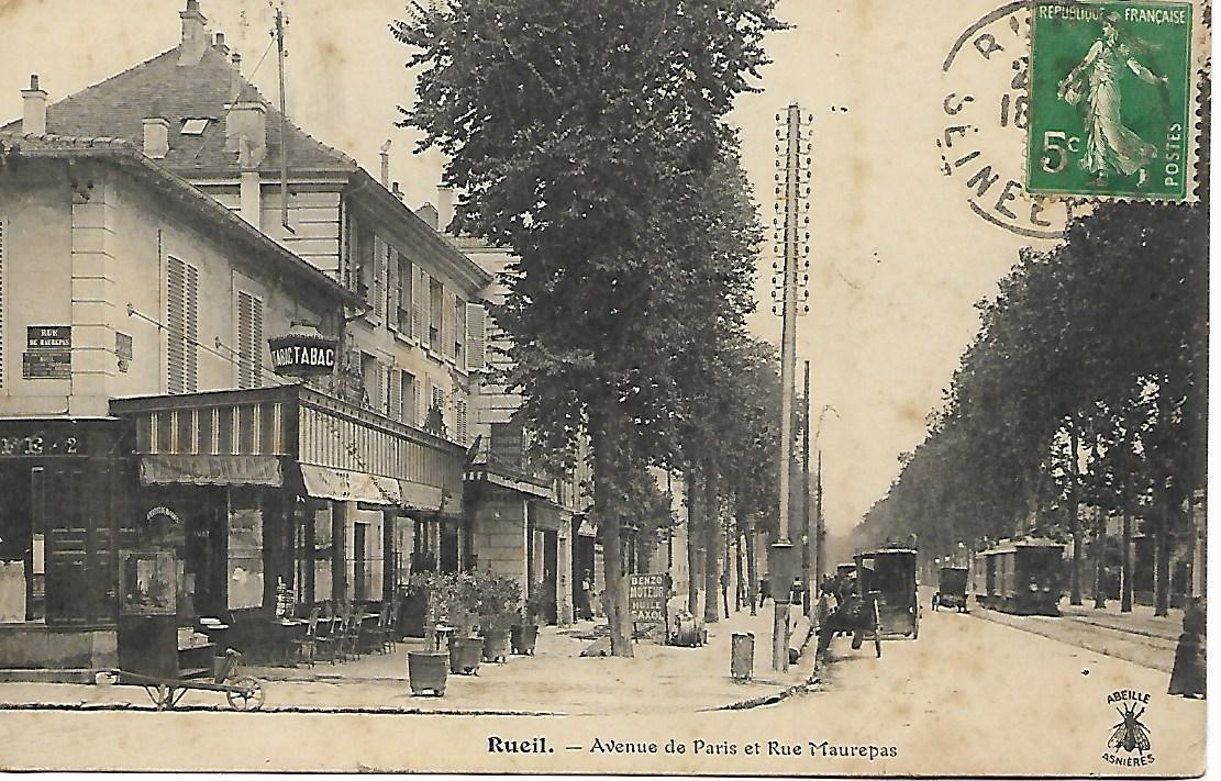 Rueil Malmaison Carte Postale Ancienne Et Vue D Hier Et Aujourd Hui Geneanet