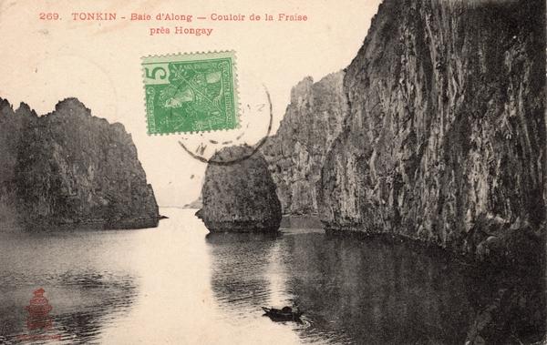 Hongay - TONKIN-Baie d'Along-Couloir de la Fraiseprès Hongay