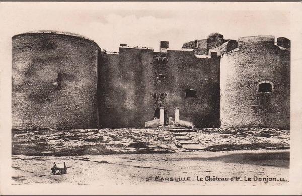 Marseille - MARSEILLE - Le Château d' If - Le Donjon