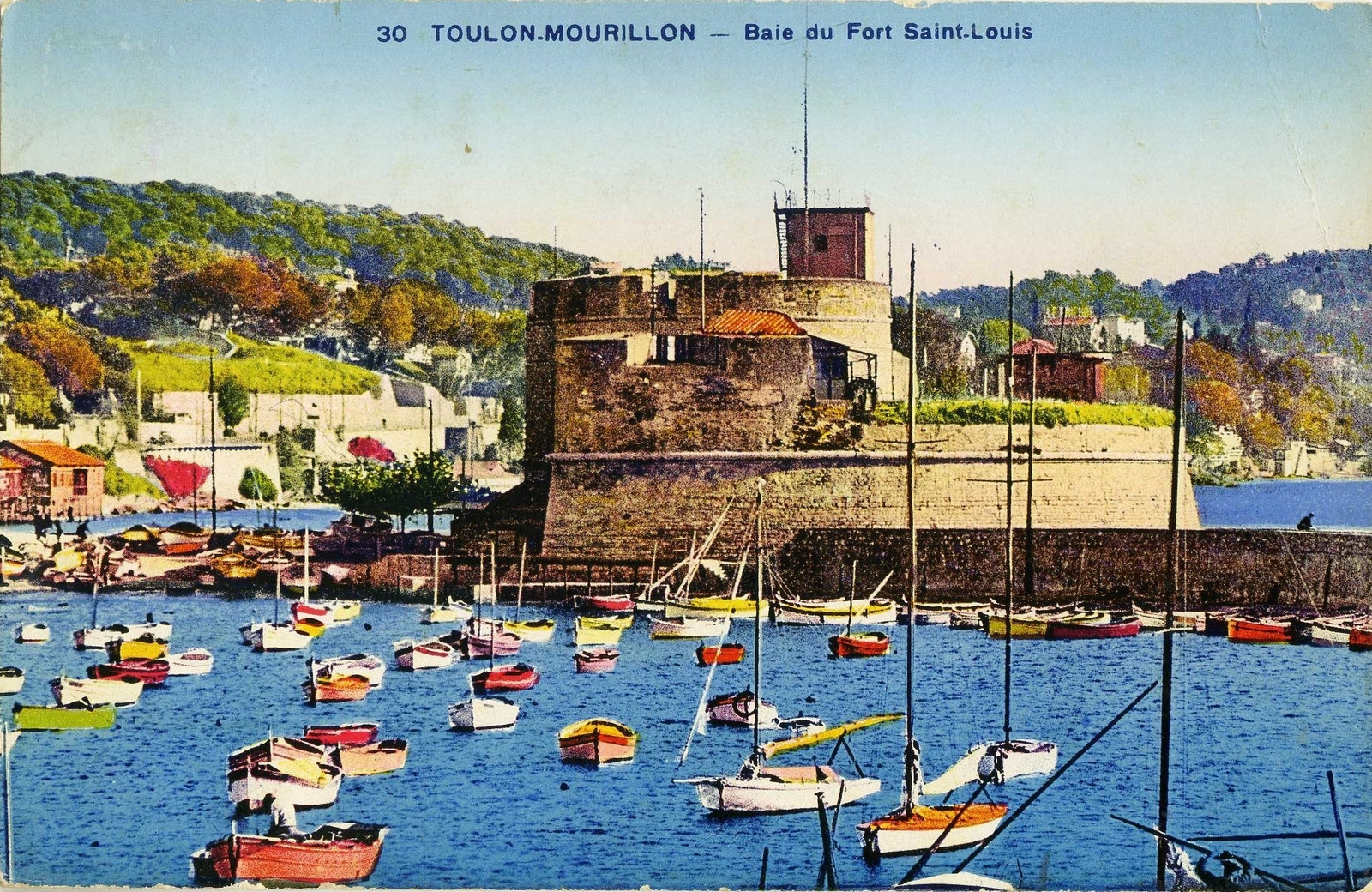 Toulon - Baie du Fort Saint Louis