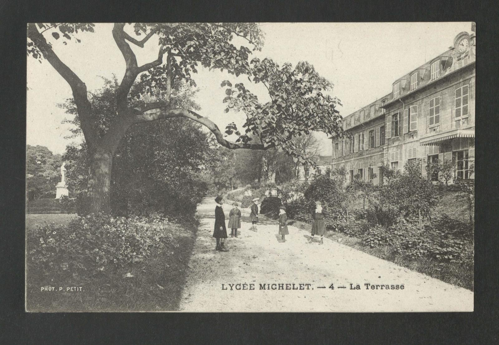 Vanves Lycee Michelet La Piscine Carte Postale Ancienne Et